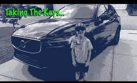 Taking The Keys Episode 1 | A Kid's Car Review | Volvo XC 60