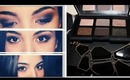 NARS And God Created the Woman palette: daytime eye look to dramatic smokey eye
