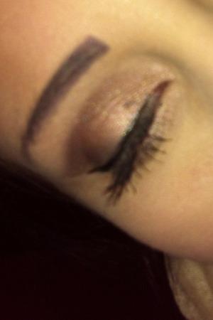 Don't mind the mascara blot on my eye lol
