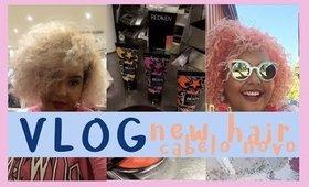 VLOG: Blorange hair! MEU CABELO BLORANGE