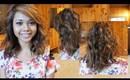 Messy Curls Hair Tutorial
