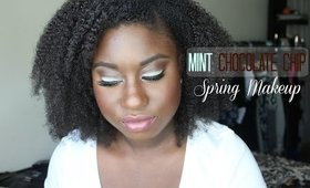 Spring Makeup: Mint Chocolate Chip feat. NARS All Day Luminous Foundation
