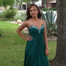 Elegant gown look