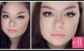 Simple Spring Makeup with ELF Cosmetics | DAY & NIGHT MAKEUP (Part 1)