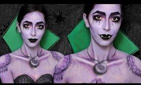Sesame Street Count Vampire Halloween Makeup Tutorial