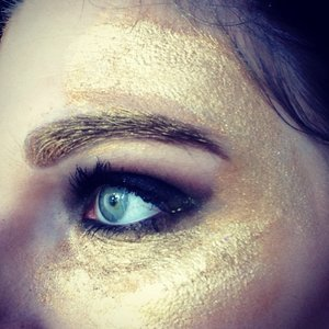 My look for work today! It's a glitter party weekend at sephora!