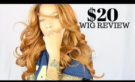 WIG REVIEW | Copper/ Ginger/ Orange Wig For $20