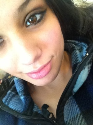 Just Me With A Little Bit Of Eye MakeUp(: