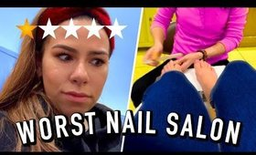 Going to the worst rated nail salon in NYC (1 Star)