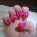 ombre nails<3