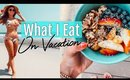 WHAT I EAT IN A DAY ON VACATION// GIVEAWAY!!