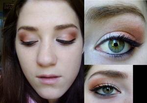 Flaming Eyeshadow w/ Inglot