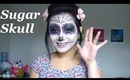 { Sugar Skull / Day of the Dead } Halloween makeup, hair, and costume