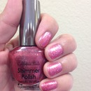 Pink Shimmer Polish By California Nails