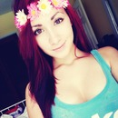 Red Hair, Natural Eyes c: