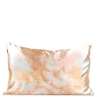 Satin Pillowcase Sunset Tie Dye