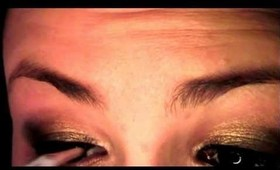 Tutorial: Golden Glamour (Urban Decay Naked Palette)