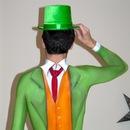 Body paint suit