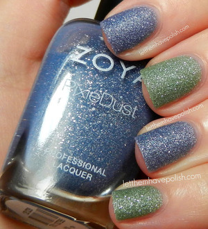 For more details head to: http://www.letthemhavepolish.com/2013/04/zoya-pixiedust-nyx-and-vespa-and.html