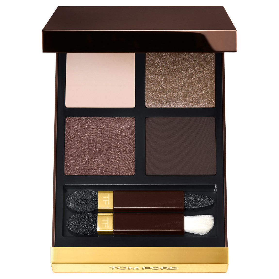 TOM FORD Eye Color Quad Noir Fume alternative view 1 - product swatch.