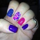 Fun summer nails!!