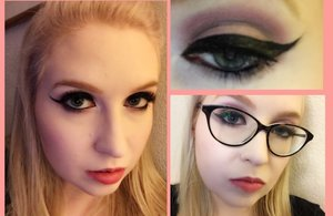 This is a date night or party look I did for Valentine's Day, but it can be used anytime!