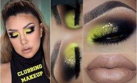 Ahumado con AMARILLO / Clubbing Makeup look | auroramakeup
