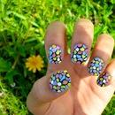 Mosaic Nail Effect!