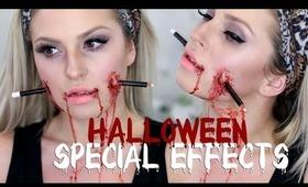 Pencil Face ♡ Halloween SFX Makeup - Shaaanxo