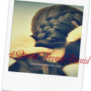 Easiest Way To Four {4} Strand Braid & 4 Strand French Braid Your Hair Tutorial Video