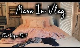 Move-In Vlog College House l Fixer Upper Ep. 1