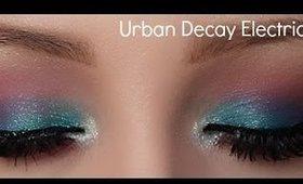 Urban Decay Electric Palette Tutorial : Summer Makeup Tutorial 2014