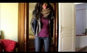 winter outfit of the day : stylish and warm
