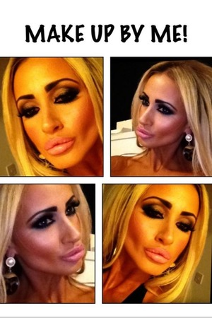 Make up done by me on one of my models!