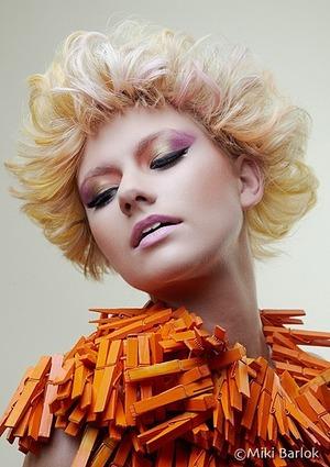 For hair dresser John Geaney  Shot my Miki Barlok