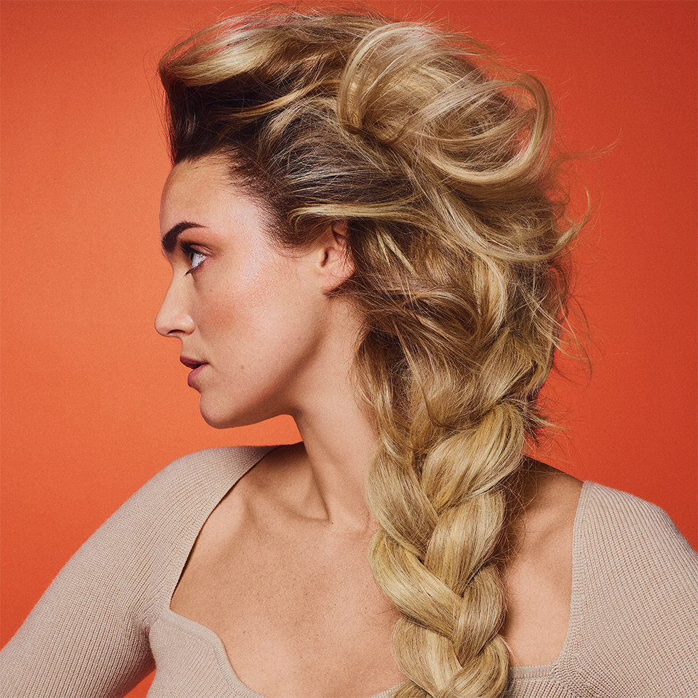 Oribe Bright Blonde Collection Model
