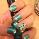 Easy Polka Dot Nails!