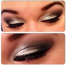 Silver Glam Eyes.