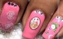 Chinese Nails - Decals Nail Art Nail Water Decals How To Nail Polish Easy Nail designs cute