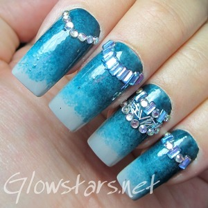 For more nail art, pics of this mani & the inspiration behind it, and products & method used visit http://Glowstars.net