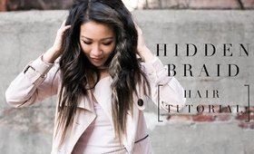 Spring Hair | Hidden Braid Hair Tutorial