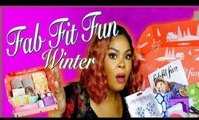 FAB FIT FUN WINTER 2019 UNBOXING | CHRISSY GLAMM| VLOGMAS DAY 1