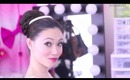 Easy Prom and Wedding Hair Tutorial Updo Style