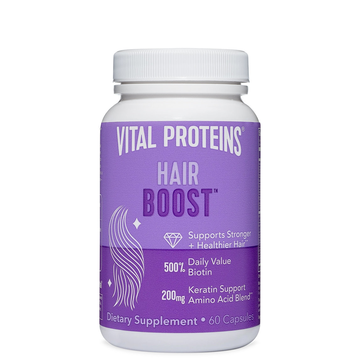 Vital Proteins Hair Boost Capsules alternative view 1 - product swatch.