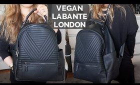 NEW VEGAN BACKPACK & WALLET FROM LABANTE LONDON | thefabzilla