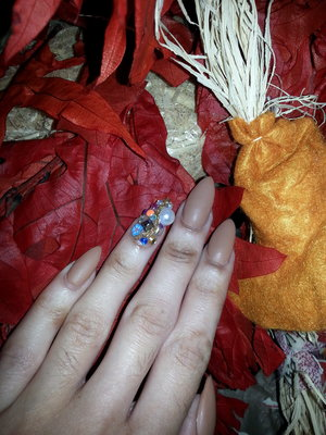 opi my way or Norway fall/winter 2014 collection and accent junk nails, opi matte top coat