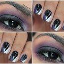 Combine Maquiagem ao Esmalte | Make Night