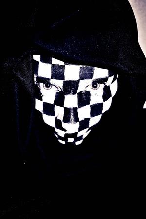 Checker Face #1