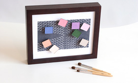Stick 'Em Up: DIY Magnetic Makeup Organizer