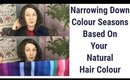 Looking At Your Natural Hair Colour to Rule Out Seasons | Color Analysis | Colour Analysis